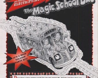 Magic School Bus Zap! Go For an Electrifying Ride!  (Softcover: Children's, Activities, Educational, Cartoon Tie-in.)  1996