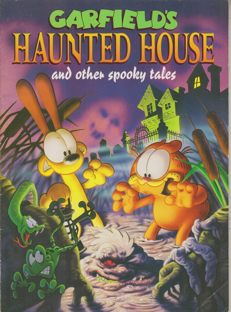 Garfield's Haunted House and other spooky tales (Softcover: Children's  Picture Book) 1994