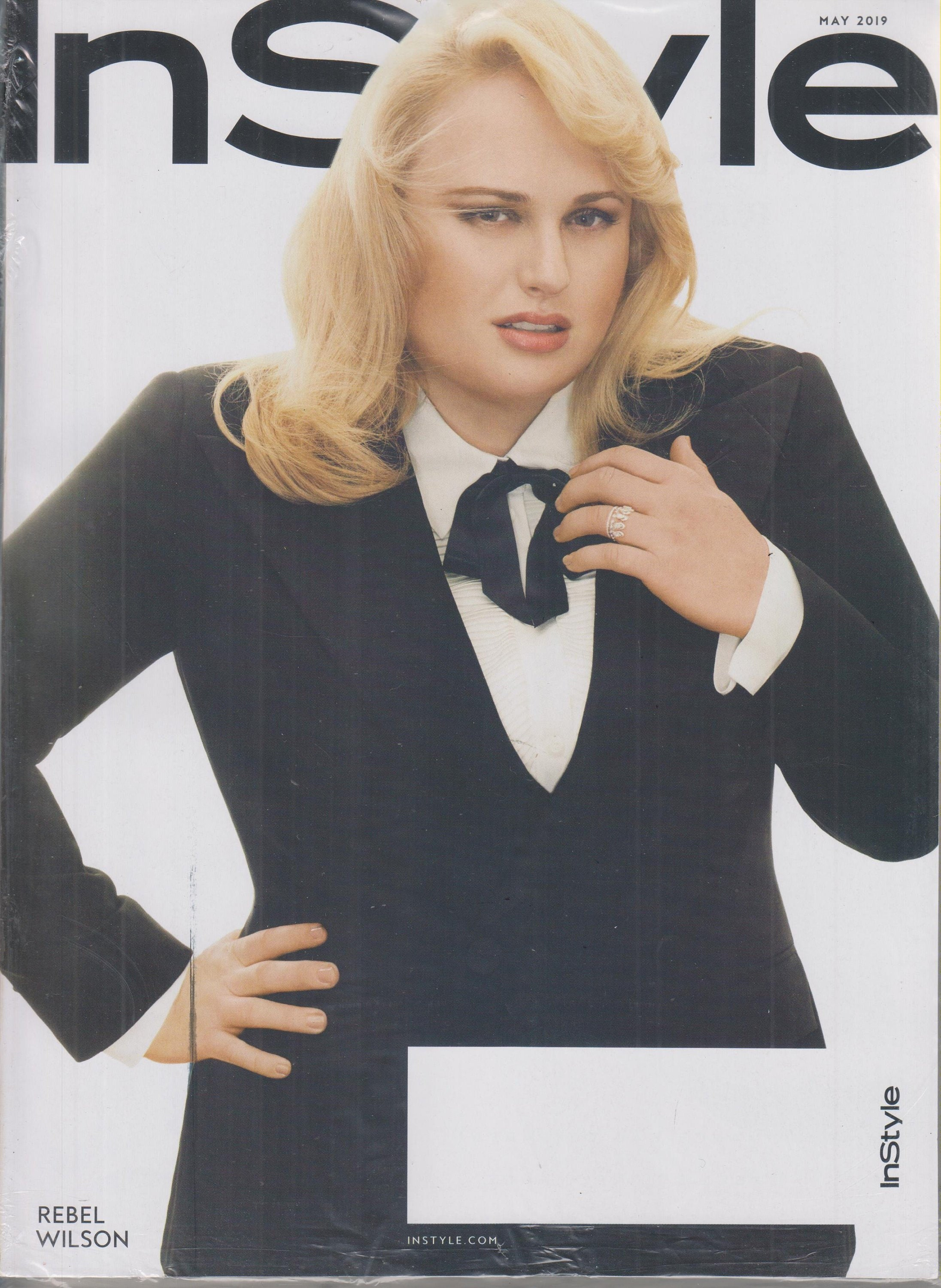 ab8aab113e2 In Style May 2019 Rebel Wilson (Magazine  Fashion)