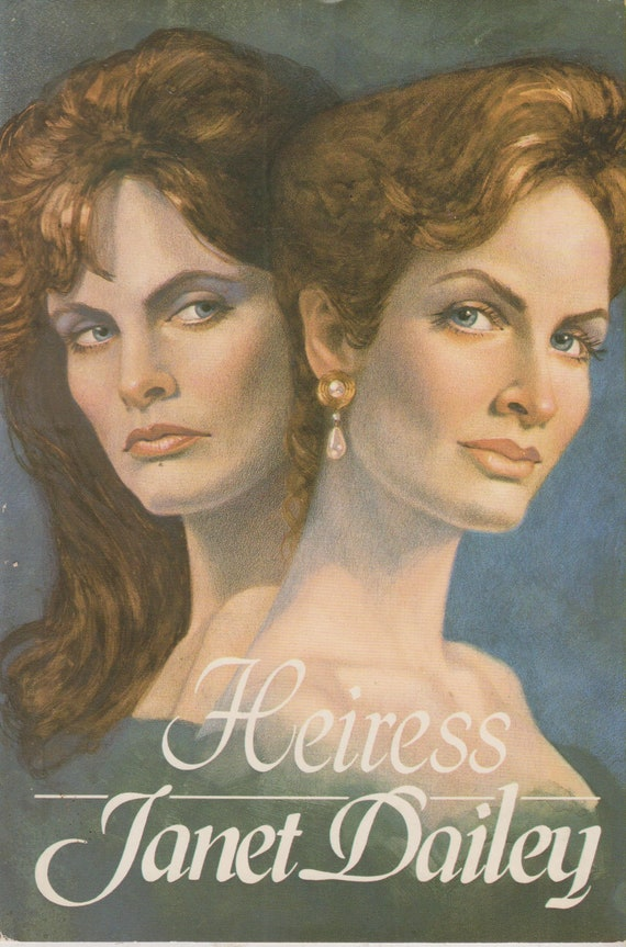 Heiress By Janet Dailey Hardcover Fiction 1987 Book Club Etsy