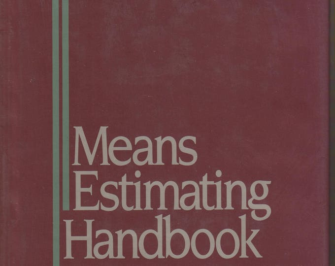 Means Estimating Handbook (Hardcover: Construction Business/Professional)