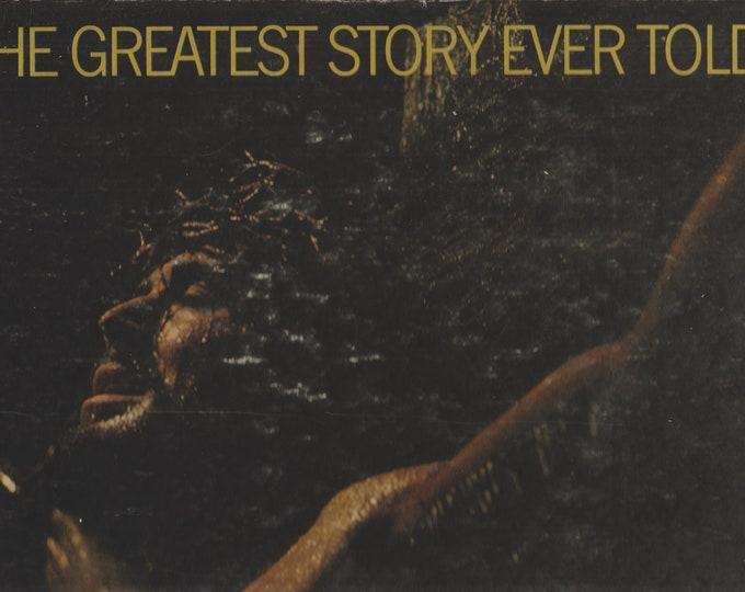 The Greatest Story Ever Told (Hardcover,  Religion, Christianity, Movie Memorabilia ) 1965