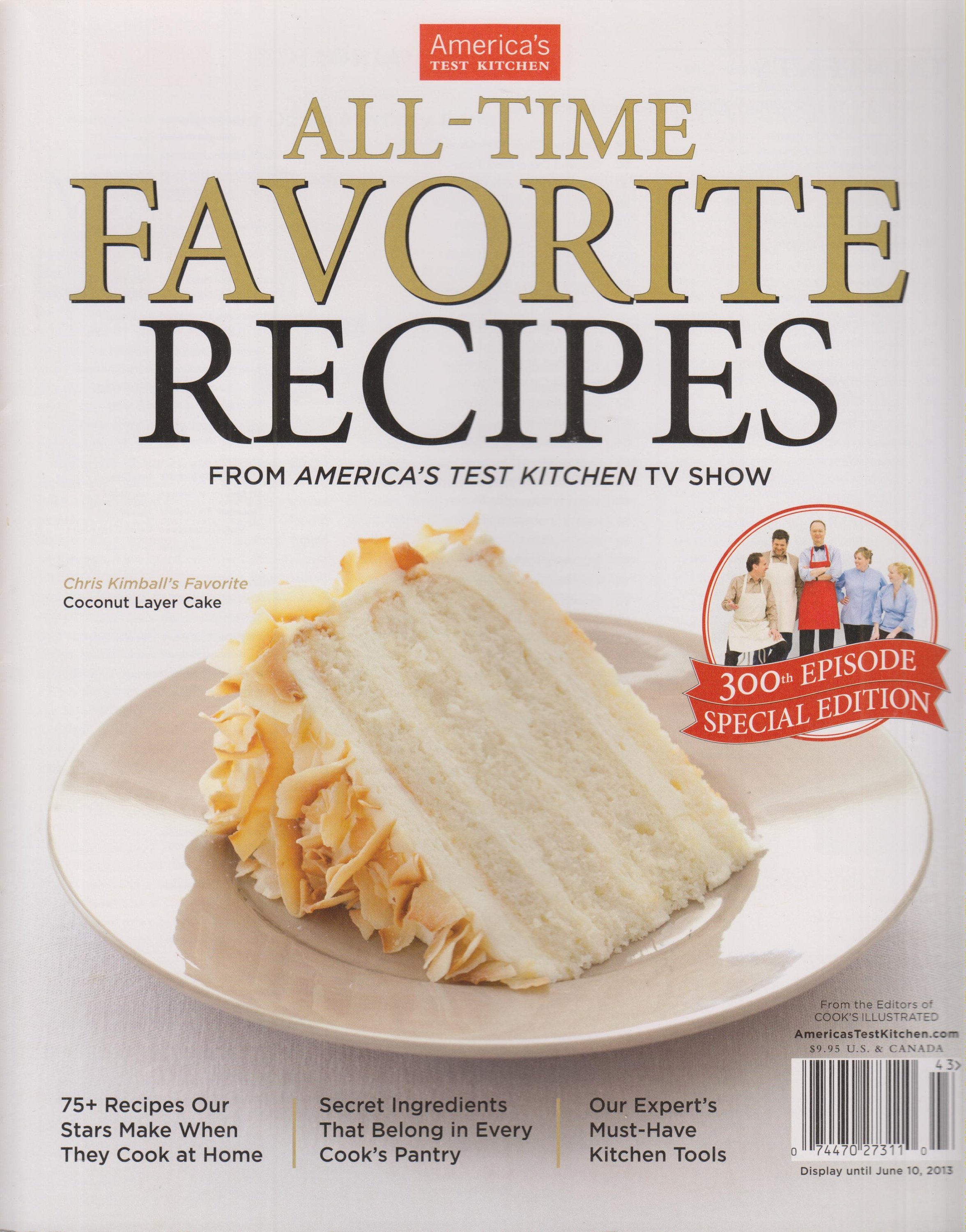 All Time Favorite Recipes From America S Test Kitchen Tv