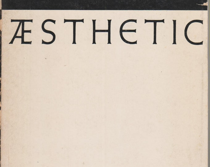 Aesthetic: As Science Of Expression And General Linguistic by Benedetto Croce (Softcover, Art) 1956