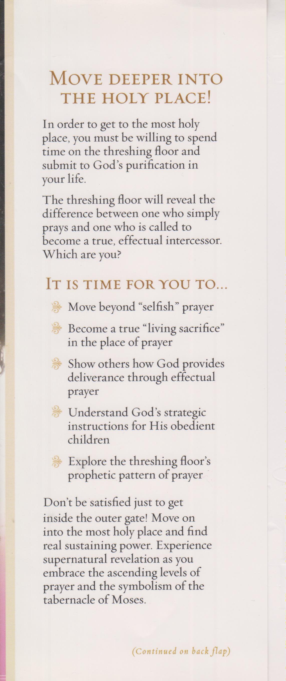 The Threshing Floor How To Know Without A Doubt God