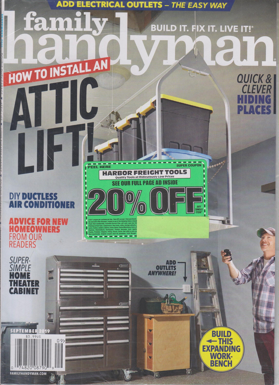 The Family Handyman September 2019 How to Install An Attic