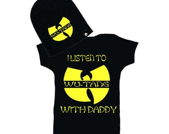Wu Tang I Listen to Wu-Tang with Daddy Creeper and Beanie 7b14c527aa7