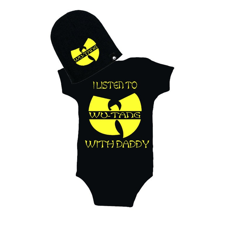 d5fa2bcd3ff Wu Tang I Listen to Wu-Tang with Daddy Creeper and Beanie WU