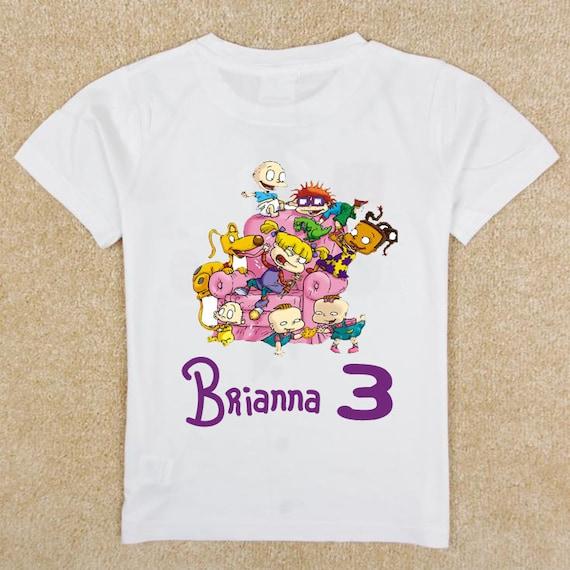RUGRATS Custom Birthday Shirt Toddler
