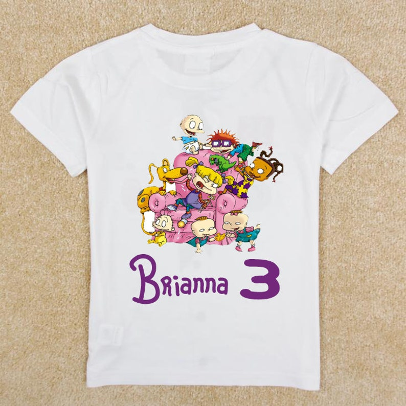 RUGRATS Custom Birthday Shirt Toddler