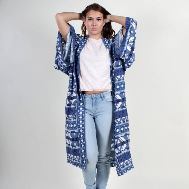 85716a1758 Kimono Boho Kimono Long Kimono Cardigan Kimono Jacket Boho   Etsy