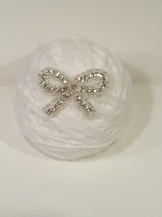 Band Baby Bling Crystal Jewelry Headband Faux Pearl Rhinestone Newborn