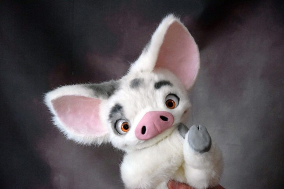 pua pig from moana etsy