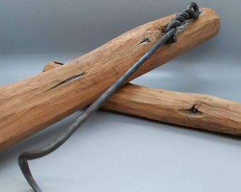 Now with free shipping! Steak & Meat Turner for the Grill or BBQ - Hand Forged and customizable