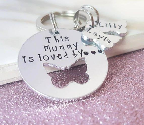Personalised keyring mum gift women s gift gift for  e450ca84e