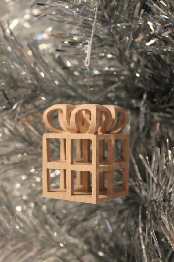 Scroll saw pattern, Christmas Ornament: Present - Scroll Saw Pattern Christmas Ornament: Present Etsy