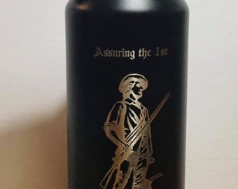Free Personalization 2A  32 Oz Water Bottle with Straw Assuring the 1st Is the Purpose of the 2nd