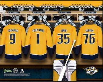 Prints Charming Nashville Predators NHL Unframed Personalized Locker Room  Hockey Sports Decor Officially Licensed Photo File Product 270a45835