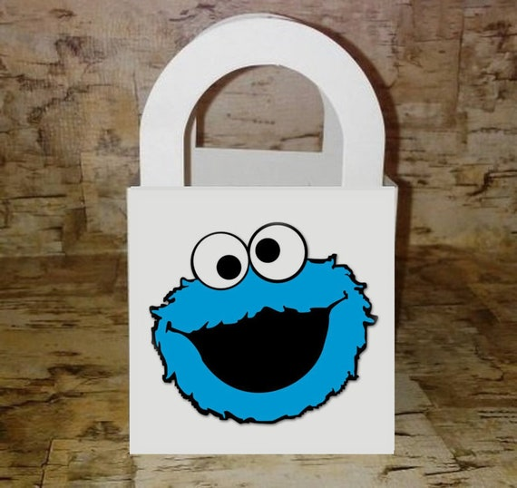 Birthday Party Supplies Treat Loot Goody Sesame Street Elmo Favors Bags 8