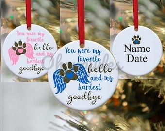 Pet loss, Dog Loss, Cat Loss, Pet memorial, Memorial Ornament, Dog loss ornament, Cat loss ornament, dog remembrance, cat remembrance