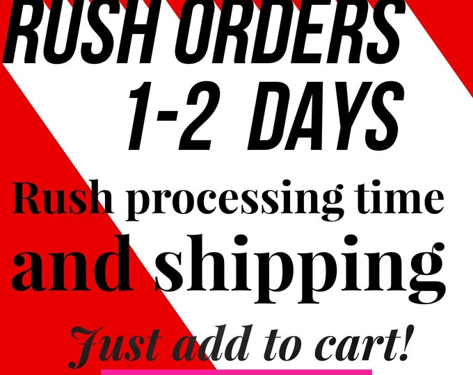 Rush Delivery, Priority Shipping