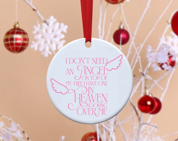 Remembrance, Angel, Remembrance Ornament, Christmas Tree, Christmas, In memory