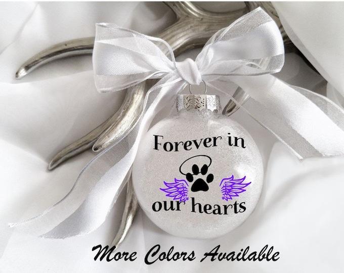Pet loss, Dog loss, Cat loss, Pet loss ornament, pet memorial, Dog ornament, Cat ornament, Memory,Paw print, Personalized ornament