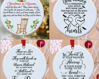 Remembrance, Remember, loss, In Memory, ornaments, Christmas ornament, Angel