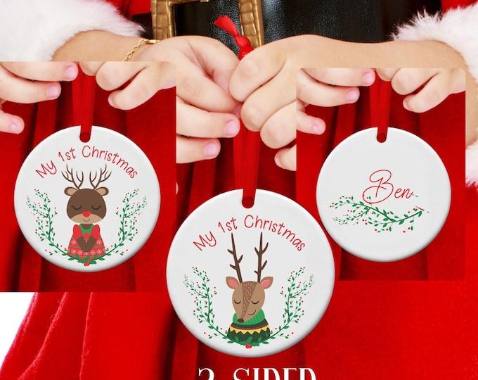 1st Christmas, First Christmas, Baby's first Christmas, babies first christmas, Ornament