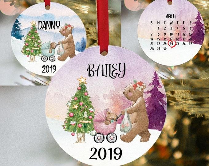 1st Christmas, Babies 1st Christmas, Baby's 1st Christmas, 1st Christmas, First Christmas, Personalized, Ornament, Babie's