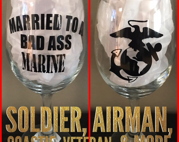 Married to a Marine, Marine Wife, Army, Navy, Coast Guard, Air Force, Wife, Husband, Proud Wife