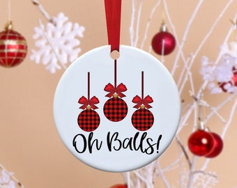Christmas Ornament, Funny Ornament, Christmas, Santa, Christmas Tree
