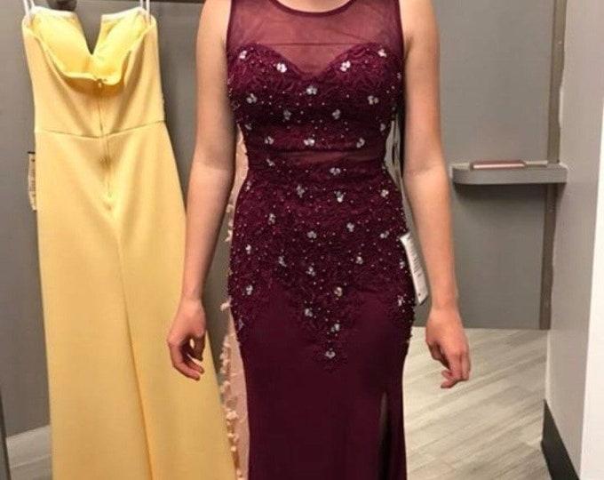 prom dress, formal dress, bridesmaid, wedding, quinceanera, evening gown, long dress, red dress