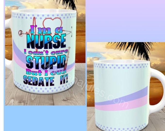 Nurse cup, Nurse mug, Nurse tumbler, Nurse coffee cup , nurse personalized