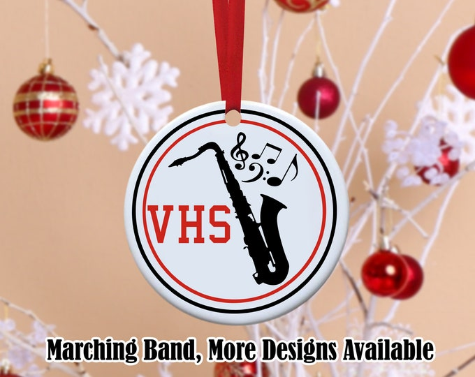 Marching Band, Band ornament, Marching band ornament