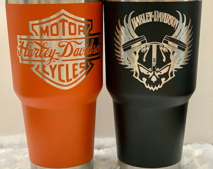 Harley, motorbikes,motorcycle,tumbler,water flask, coffee, tea, stainless tumbler, personalized