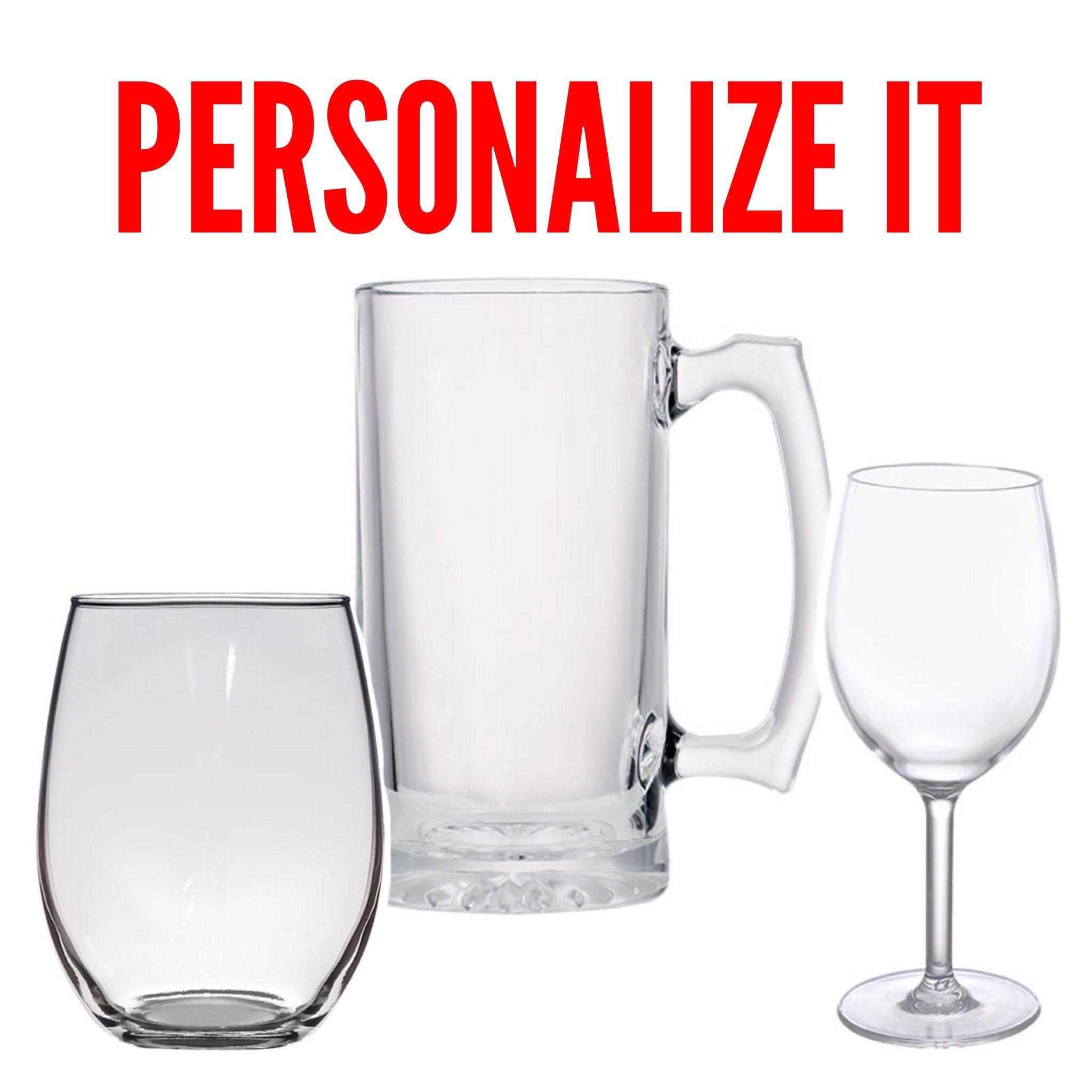 wine glass personalized wine glass wedding glass 21st birthday