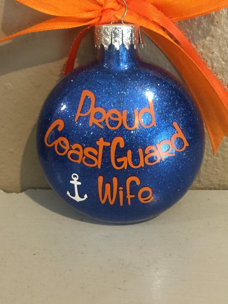 Coastie Coast Guard Coast Guard ornament coast guard ornament,Personalized Ornament