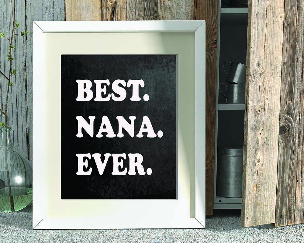 Gift for Nana Best Nana Ever Grandmother Gift Christmas | Etsy
