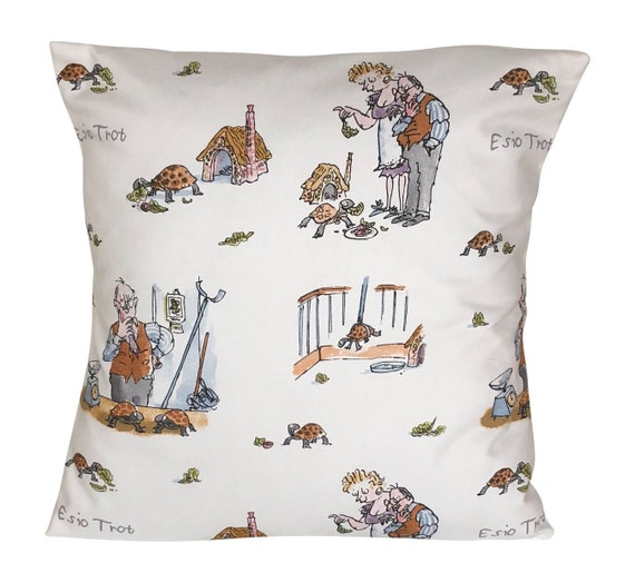 "1 x 16/"" Roald Dahl Esio Trot Cushion Cover"