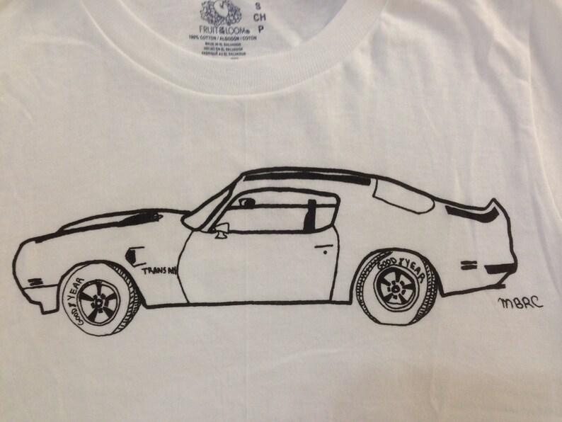 0105fffd6b Pontiac Trans Am Tee Shirt Trans Am Tee Shirt Children's | Etsy