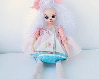 Pupa is handmade, Art doll, art dolls, ooak, ooak doll, ooak dolls, artist doll, artist doll, handmade doll, handmade dolls, collectible