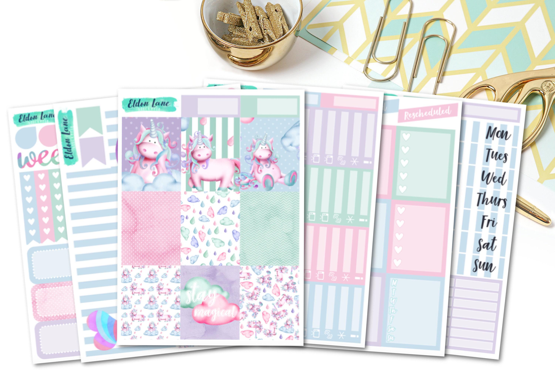 Stay Magical Deluxe Planner Sticker Kit for the Erin Condren Vertical Planner