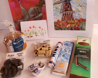 The Ultimate Dutch Box, Windmill, Tulips, Candy, Birthday, Fathers Day