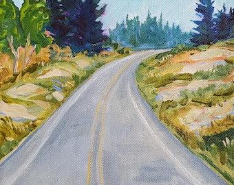 Highway 2, Saint Ignace, Sand Dunes, UP, Go North, Michigan Road Trip, Upper Peninsula, Michigan Art,