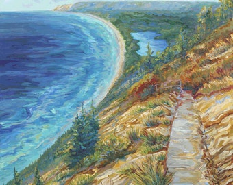 On The Bluff, Sleeping Bear Dunes, Empire Michigan, Glen Arbor, Dunes, Lake Michigan