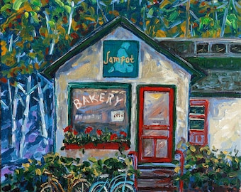 Jampot Bakery, Eagle Harbor, Monks, Society of St. John, Keweenaw, Upper Peninsula, Michigan, Fine Art Print, Giclee, Canvas Print