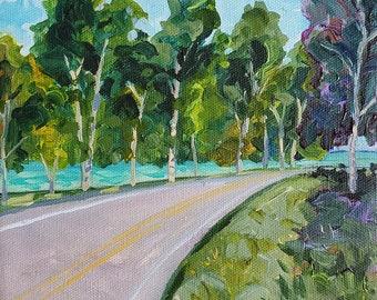 Tunnel of Trees, M 119, Lake Michigan, Go North, Michigan Road Trip, Upper Peninsula, Michigan Art,