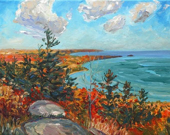 Sugar Loaf, Marquette, Michigan, Upper Peninsula, Michigan, Fine Art Print, Giclee, Canvas Print, Betsy ONeill, Michigan Art