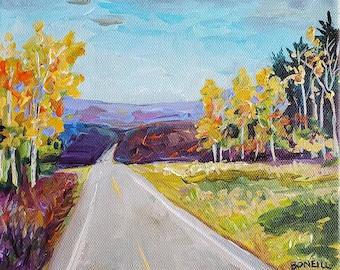 North, Highway 37,  Michigan Road Trip, Travel, Michigan Art,